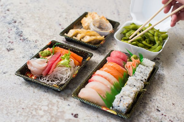 Find sushi delivery and takeout options in Appleton, WI.