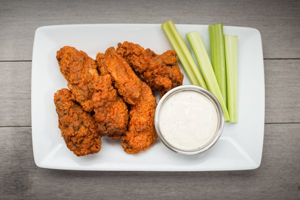Find wings delivery and takeout options in Salina.