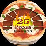 25 Pizzas