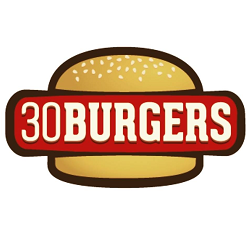 Logo for 30 Burgers