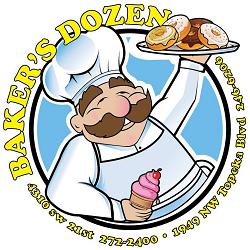Baker's Dozen Donuts in Topeka, KS 66608