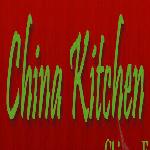 Logo for China Kitchen