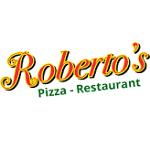 Logo for Roberto's Pizza Restaurant