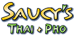 Logo for Saucy's Thai & Pho - Plano