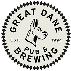 Logo for The Great Dane - Hilldale